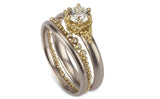 Crown Contour Ring - diamonds