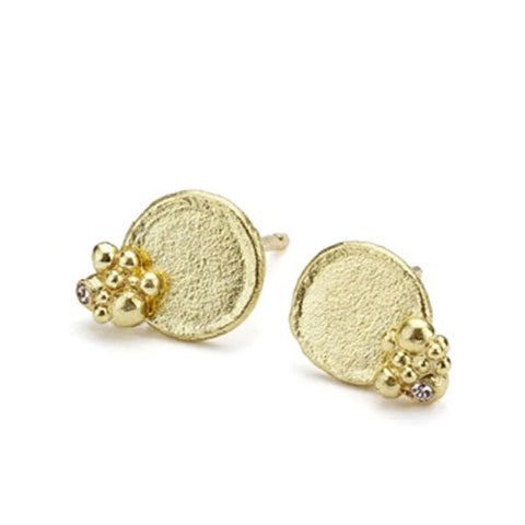 Adorn Disc Earrings