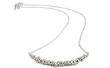 Froth Crescent Necklace