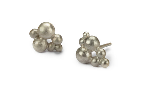 Froth Earrings - Silver