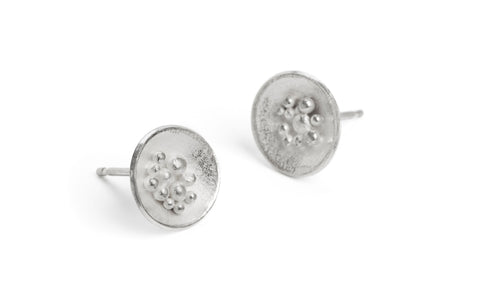 Adorn Granulated Earrings - medium