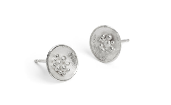 Adorn Granulated Earrings - small
