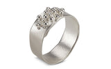 Granulated Ring - silver