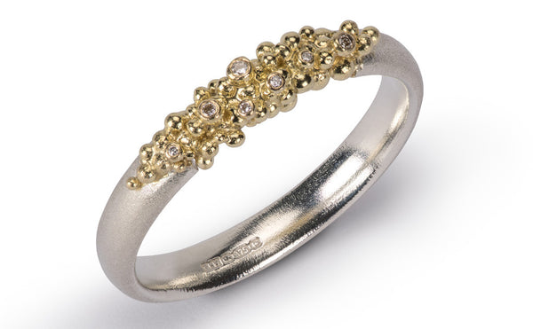 21. Granule Diamond Ring
