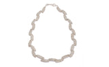 Oval Lace Necklace - scattered