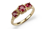 Triple Cluster Ring - ruby