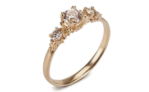 Cluster Diamond Ring - Triple