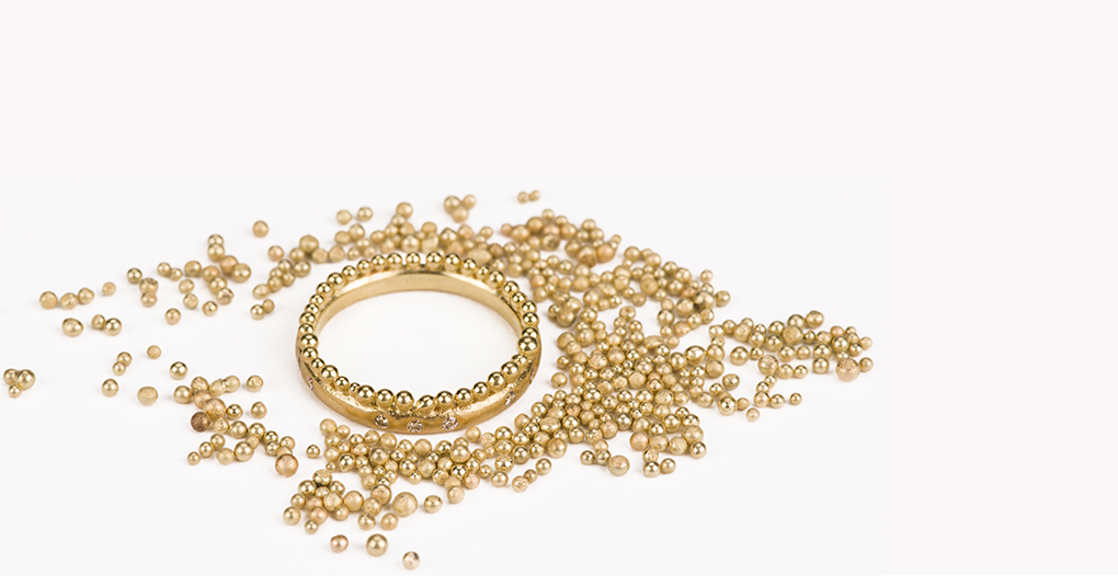 Gorgeous Granulation Rings