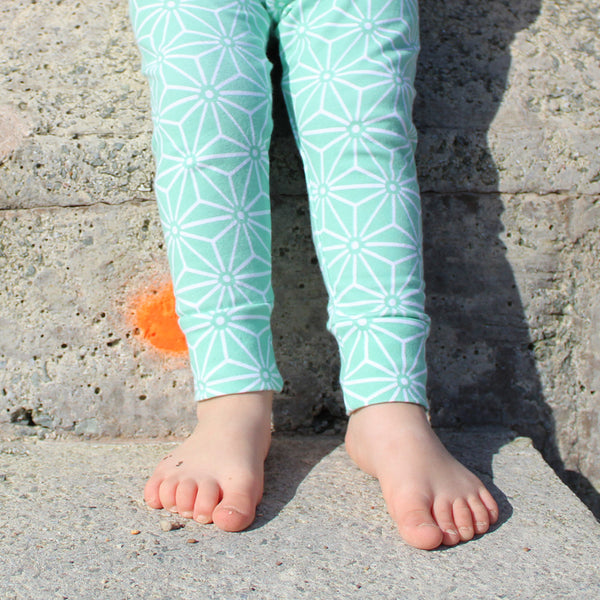 Trix Legging - Mint- One pair left