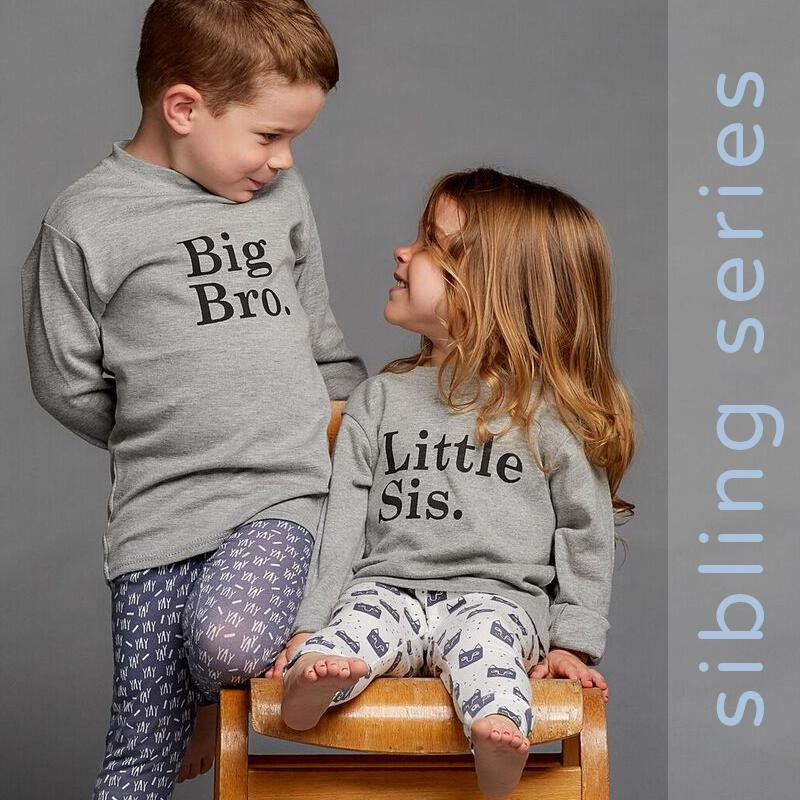 lennie and co sibling t-shirts