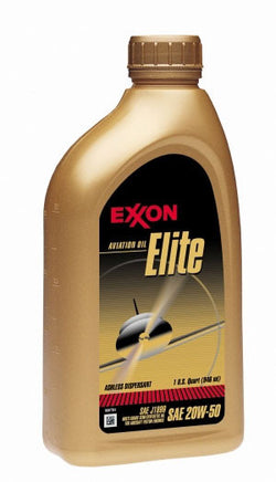 Exxon Elite Multigrade Piston Oil