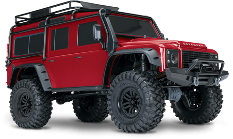 TRX-4 Scale and Trail Crawler with Land Rover® Defender® Body 82056-4