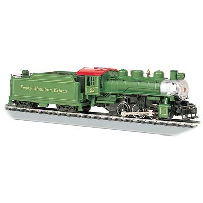 Bachmann USRA 0-6-0 w/Smoke/Short Haul Tender Smoky Mtn. 50402