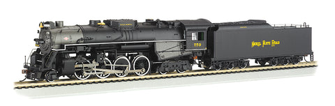 Berkshire Nickel Plate #739 HO w/ DCC Sound Value 52404  OUT OF STOCK
