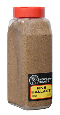 Woodland Scenics Ballast Fine Brown 32 oz B1372