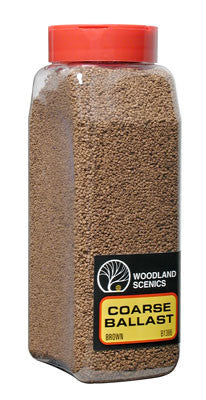 Woodland Scenics Ballast Coarse Brown 32 oz B1386
