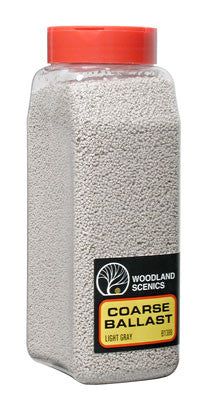 Woodland Scenics Ballast Coarse Light Gray 32 oz B1388
