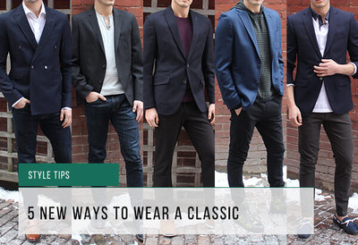 Maximize Your Blazer: 5 New Ways To Wear A Classic
