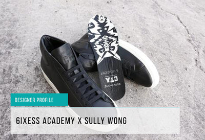 6ixess x Sully Wong Launch the Wolf Sneaker