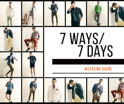7 Ways / 7 Days: Weekend Style Guide