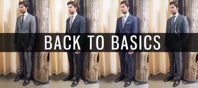 BACK TO BASICS: SUITS FOR EVERYDAY