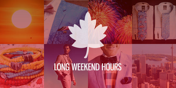 Canada Day Long Weekend Holiday Hours