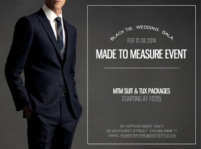 [Promotion] Made To Measure Wedding Package