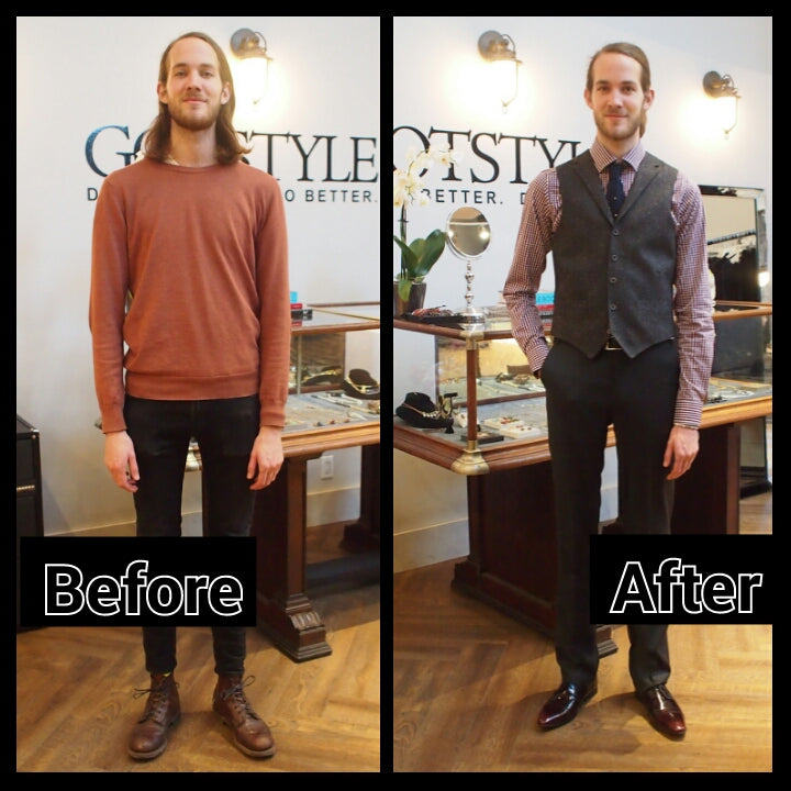 GOTSTYLE MAKEOVER STORY WITH FLORIS