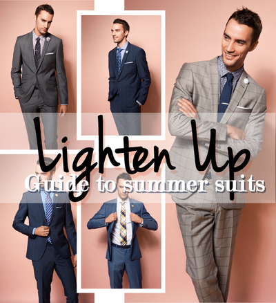 Lighten Up: Summer Suits By Tiger Of Sweden