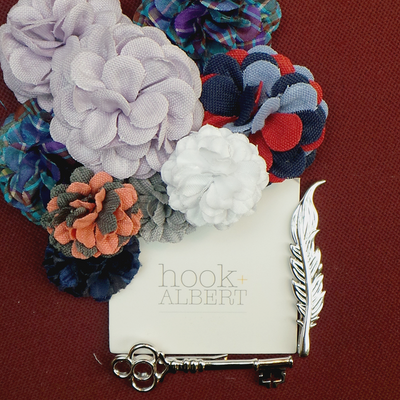 Hook & Albert Lapel Pins And Tie Bar