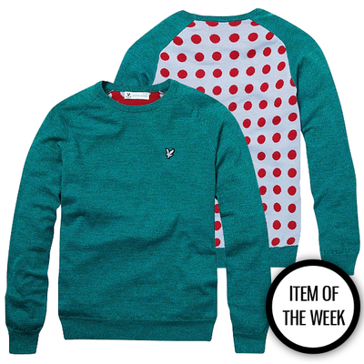 Item Of The Week: LYLE & SCOTT Polka Dot Sweater