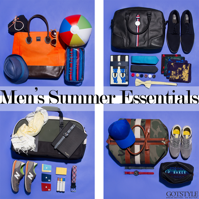 Men's Summer Essentials: Accessories