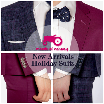 New Arrivals: Moods Of Norway Holiday Suits