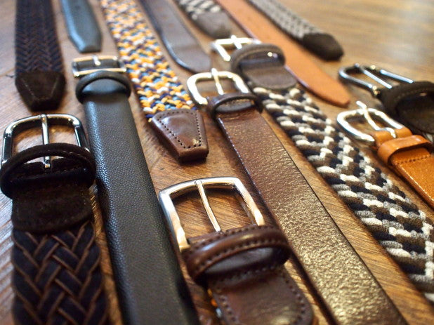 Fall 2013 New Arrivals: Anderson's Belts