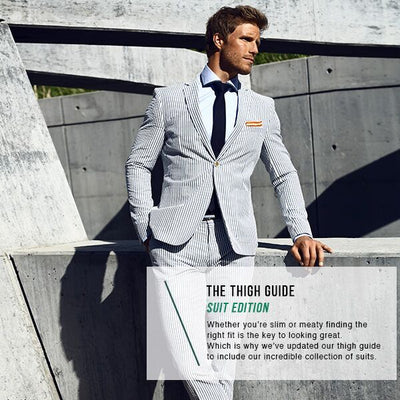 Find The Perfect Fit With Our Thigh Guide For Suits