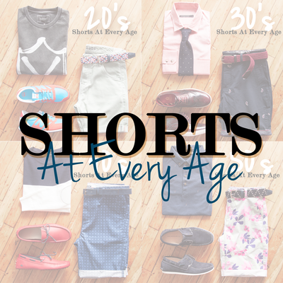 How To Wear Shorts At Every Age