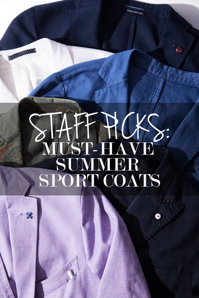 Must-Have Summer Sport Coats