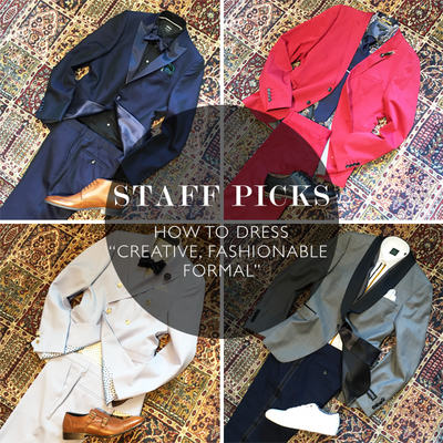"Staff Picks: Favourite ""Creative Fashionable Formal"" Outfits"