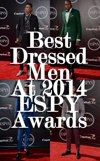 Best Dressed Men At 2014 ESPY Awards