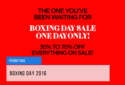 Boxing Day 2016 | 10 Things to Buy