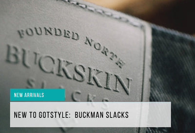 New to Gotstyle: Buckson Slacks