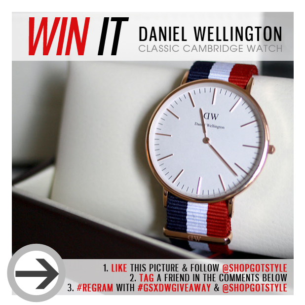[Contest] Enter To Win A Daniel Wellington Watch