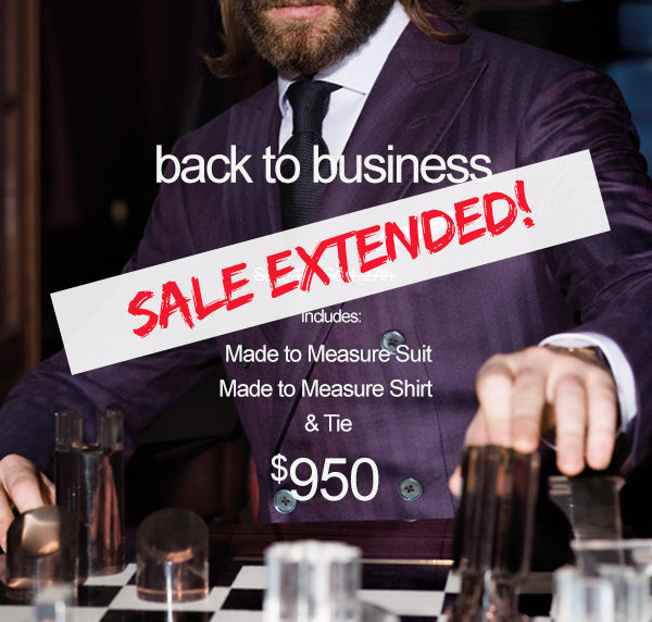 Made to Measure Sale: Extended