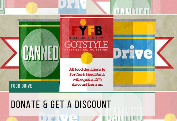 Gotstyle Food Drive With Fort York Food Bank