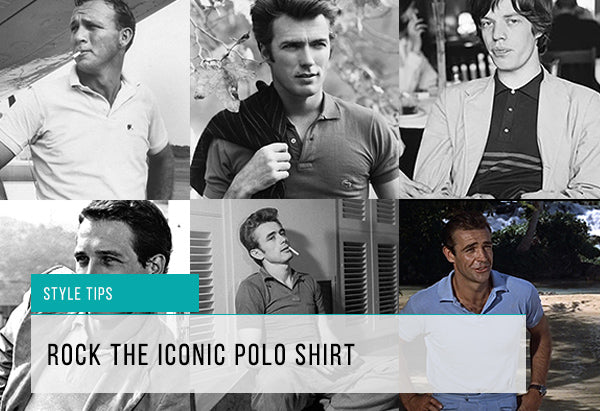 Iconic Polo Shirt Feature Image||||||||Geometric Polo|Circle of Gentlemen Polo|Circle of Gentlemen Polo|Sand Knit Polo Shirt|Ted Baker Floral Polo||||Ted Baker Knit Polo|Ted Baker Pattern Polo Shirt|Individual Textured Polo|Blue Industry Polo||