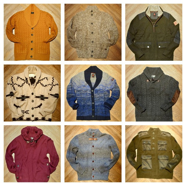 New Arrivals: Sweaters for Fall by Vito, Nobis, Johnny Love, Strellson, Van Gils, Gsus, Loft 604 & Howes & Baum
