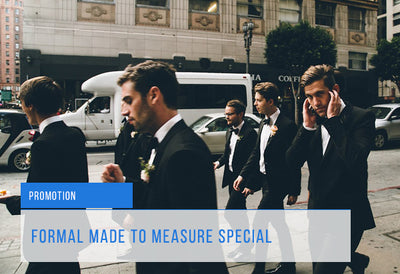 Formal Made to Measure Promotion