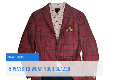 Staff Picks: Favourite Mens Blazer Outfits