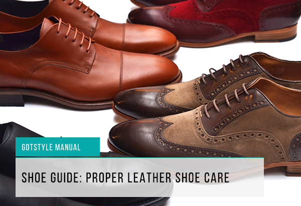 Proper shoe care feature image|