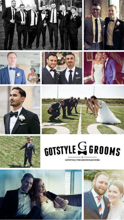 Real grooms, real style.